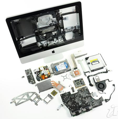 iMac, ����������� ������������� iFixit