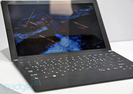 прототип нетбука Samsung с пластиковым экраном