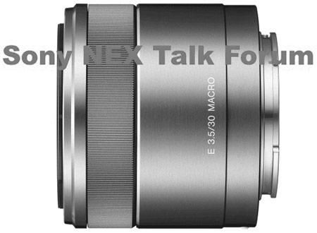 объектив Sony 30mm f/3.5 Macro