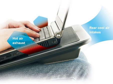охлаждающая подставка Cooler Master NotePal LapAir