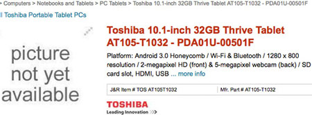 ������� Toshiba Thrive ��������� �������� �� ���������� ������� J&R