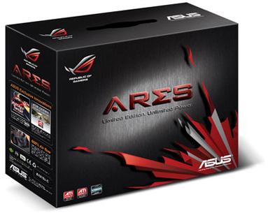 Тактовые частоты GPU, ядер CUDA и памяти ASUS GTX 595 Ares составят 875, 1750 и 4800 МГц соответственно