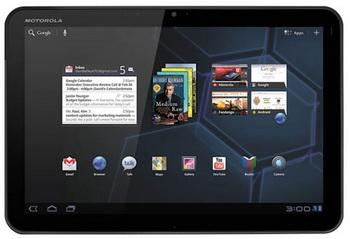 motorola Mobility отправила на рынок более 250 тыс. планшетов Xoom