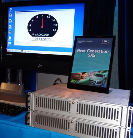 У LSI готов расширитель SAS 12 Гбит/с, рассчитанный на подключение до 44 устройств
