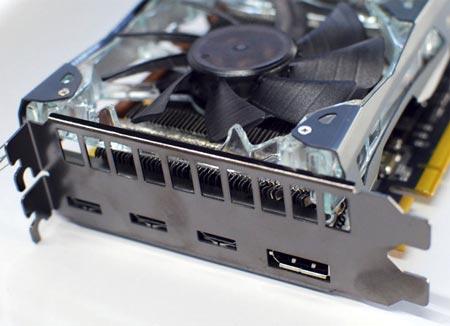 Galaxy GeForce GTX 580 с поддержкой трех мониторов