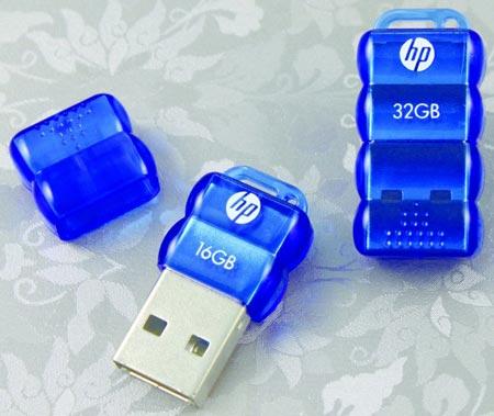 PNY выпускает миниатюрную «флэшку» HP v112b объемом до 32 ГБ
