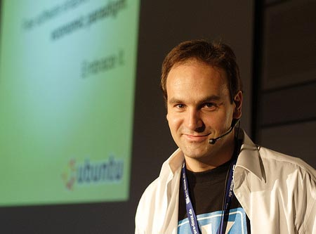 Основатель Canonical Mark Shuttleworth (Марк Шаттлворт)