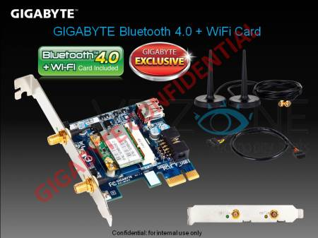 Плата расширения GIGABYTE Wi-Fi Bluetooth