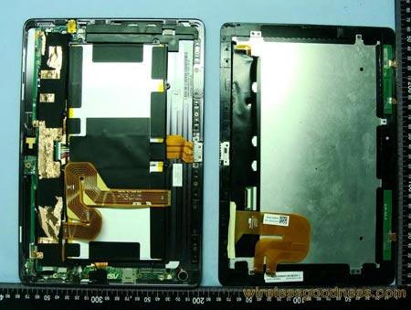 Вскрытие планшета ASUS Transformer Prime позволило увидеть однокристальную систему NVIDIA Tegra 3