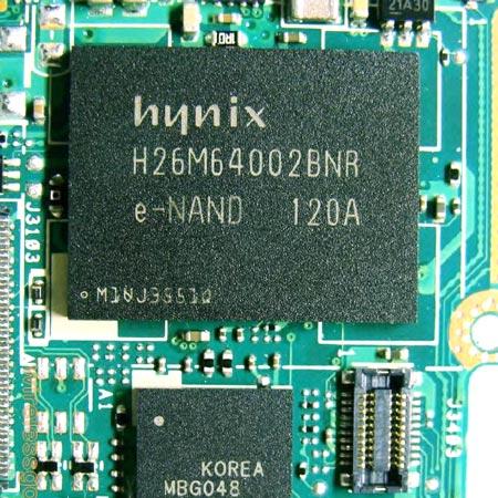 флэш-память типа NAND производства Hynix