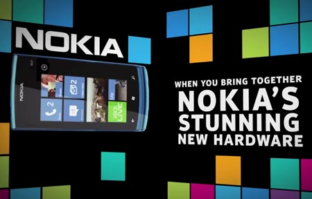 Смартфон Lumia 900 замечен в рекламном ролике Nokia