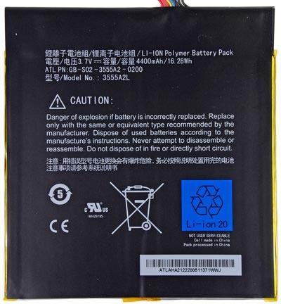 Батарея обеспечивает напряжение 3,7 В, емкость — 4400 мАч