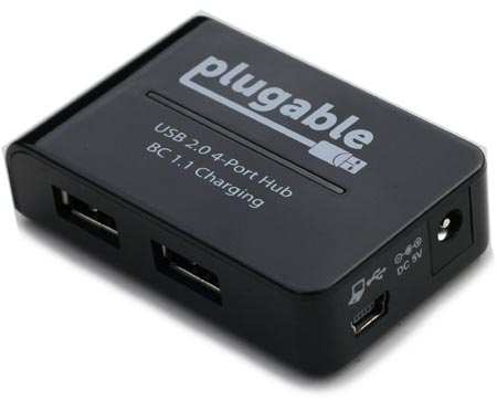 ������������ USB Plugable Technologies USB2-HUB4BC ������������� ������������ BC 1.1