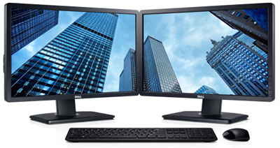 Dell UltraSharp P-series � ��������� ������� �������� �� ���� ������� ���� TN