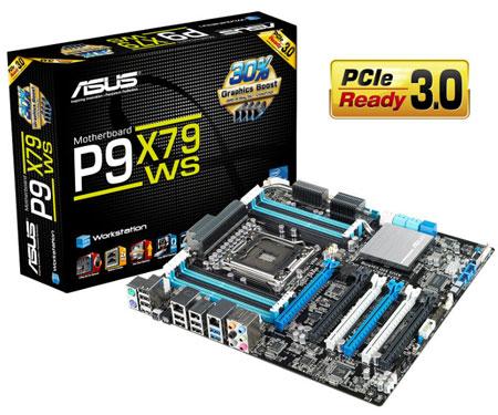 Системная платы ASUS P9X79 WS