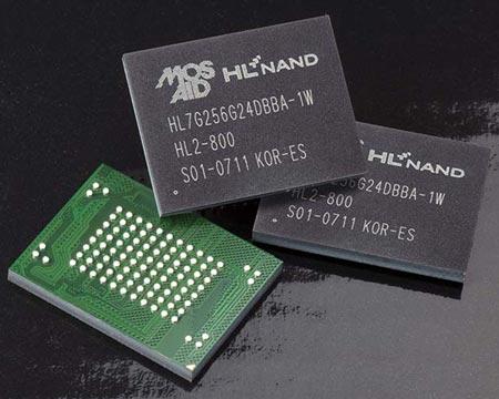 Память HLNAND2 работает на скорости DDR-800