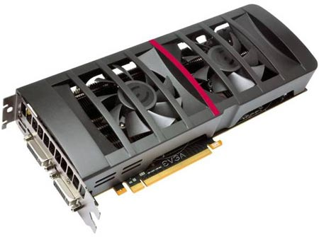 ����� EVGA GeForce GTX 560 Ti 448 Cores Classified �������� � ���������� ���������, ����� �������� ���� �������