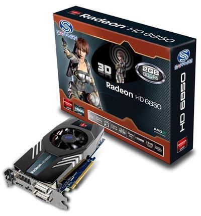 Sapphire HD 6850 2GB