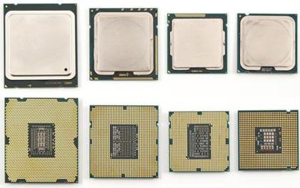 процессоры Intel в корпусах LGA2011, LGA1366, LGA1155 и LGA775