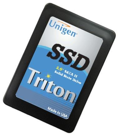 В серию Unigen Triton 3100 войдут SSD объемом до 640 ГБ