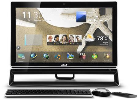Компания Acer представила моноблочные ПК AZ5, AZ3 и Veriton