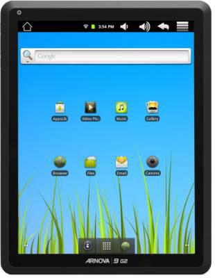 Archos Arnova 9 G2 получила дисплей как у iPad
