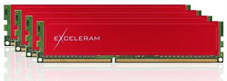 Объем четырехканального комплекта модулей памяти Exceleram для систем с Sandy Bridge E равен 32 ГБ