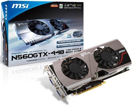 MSI N560GTX-448 Twin Frozr III Power Edition/OC