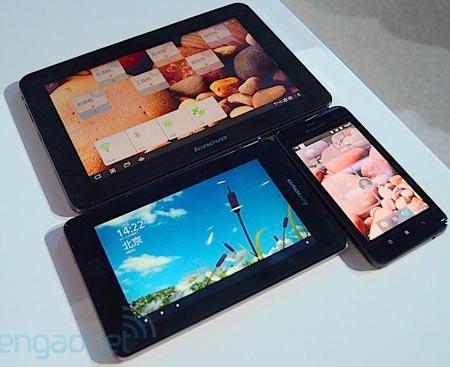 Lenovo представила планшеты LePad S2007 и LePad S2010