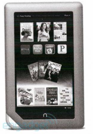 Планшет Barnes & Noble Nook Tablet