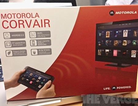 Шестидюймовый планшет Motorola Corvair