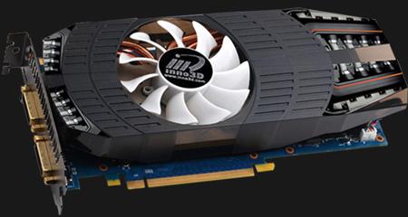 Inno3D немного разгоняет 3D-карту GTX 560 Ti 448SP HyperCore и оснащает ее системой охлаждения собственной разработки