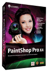 Corel PaintShop Pro X4 Box-art
