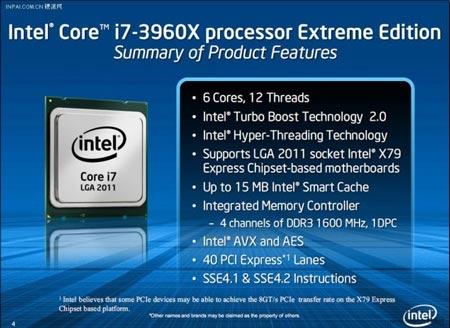 особенности i7-3960X