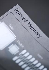 Сотрудничество Thinfilm и Polyera направлено на коммерческий выпуск памяти методом печати