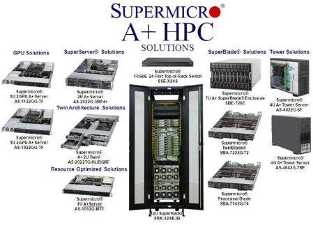 ����� ����������������� ��������� Supermicro ������������ 16-������� ���������� AMD Opteron