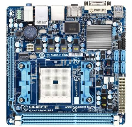��������� ����� GIGABYTE A75N-USB3