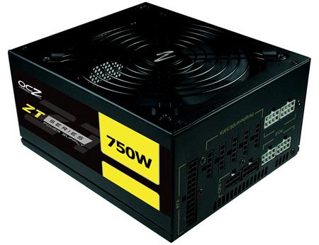 Блоки питания OCZ ZT оснащены модульными кабельными системами