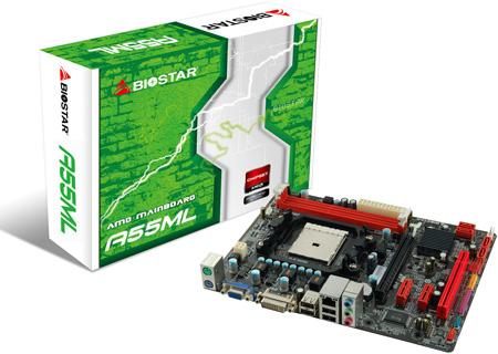 Системные платы BIOSTAR A55ML