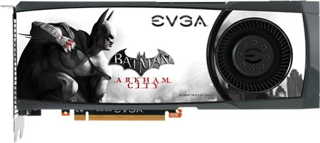 EVGA GeForce GTX 580 Batman: Arkham City Edition