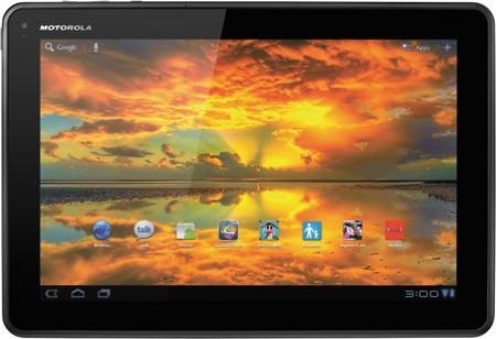 «Семейная» версия планшета Motorola Xoom стоит на $120 дешевле обычной