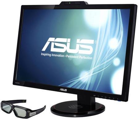 монитор ASUS VG278H, первым получивший сертификат NVIDIA 3D LightBoost