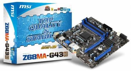 Системная плата MSI Z68MA-G43 (G3)