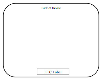 Единственное схематичное изображение планшета, засветившегося на сайте FCC