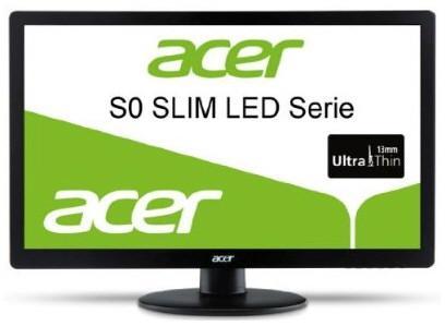 тонкие мониторы серии Acer S0