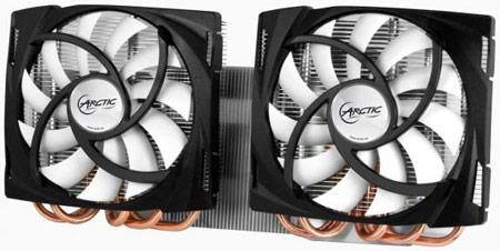 Arctic ��������� ���������� Accelero Twin Turbo ��� 3D-���� AMD Radeon HD 6990
