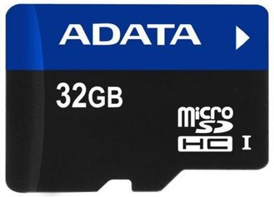 Объем карточек ADATA microSDHC UHS-I достигает 64 ГБ