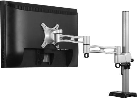 Стойки для мониторов Arctic Z1 и Z2 помогают рационально использовать место на рабочем столе