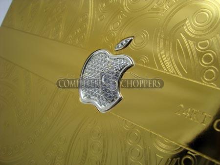 В Computer Choppers придумали покрыть Macbook Pro чистым золотом