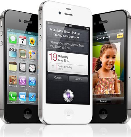 iPhone 4S сохранил внешность предшественника, получив абсолютно новую «начинку»
